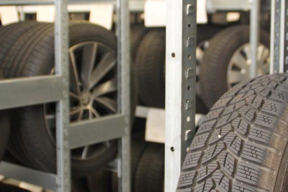 Einlagerung von Reifen
