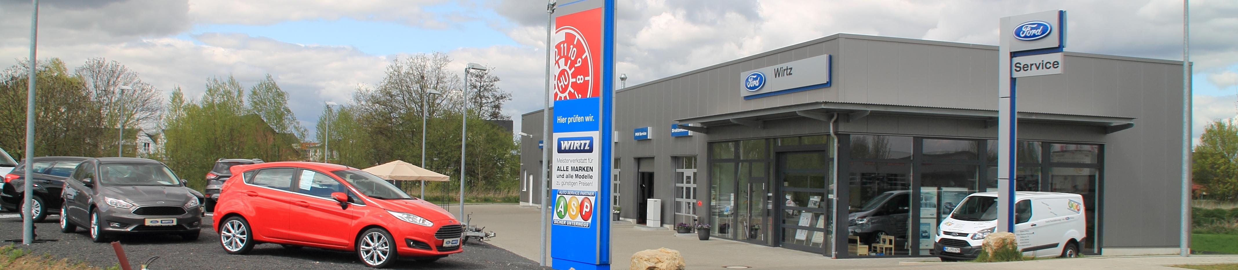 Autohaus bei Neuss Robert Wirtz Ford